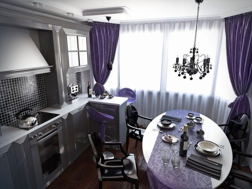 Стиль арт-деко в интерьере кухни