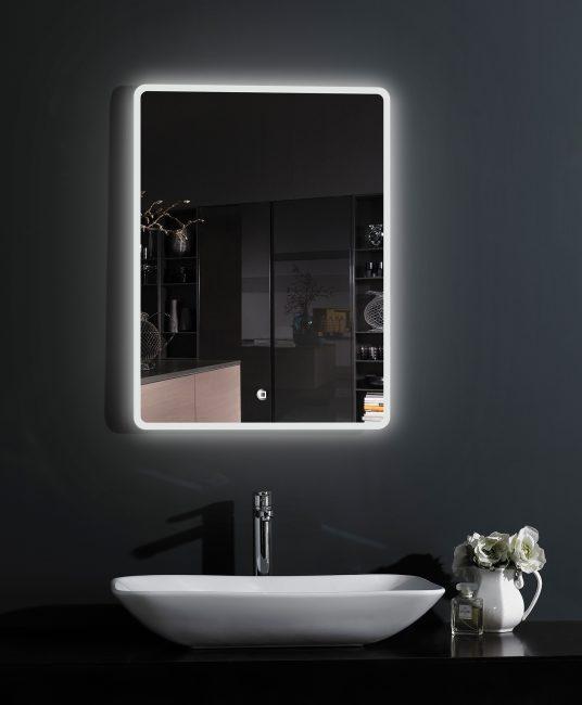 Современное влагостойкое зеркало