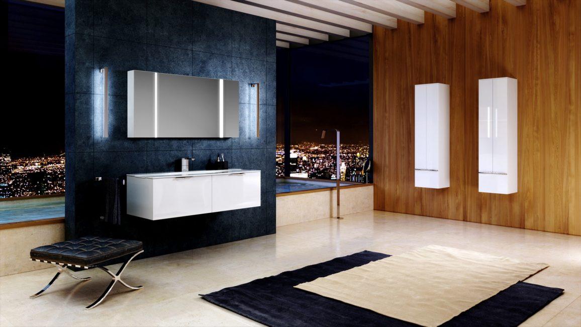 Практичная мебель, что может стать украшением ванны
