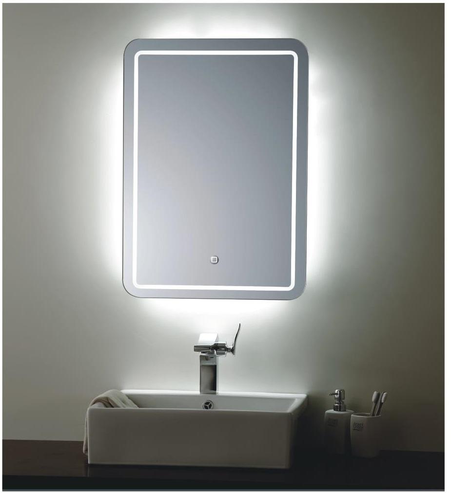 купить зеркало в ванную комнату с подсветкой