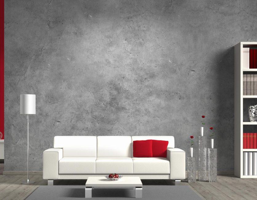 Декоративная штукатурка способна кардинально преобразить жилье