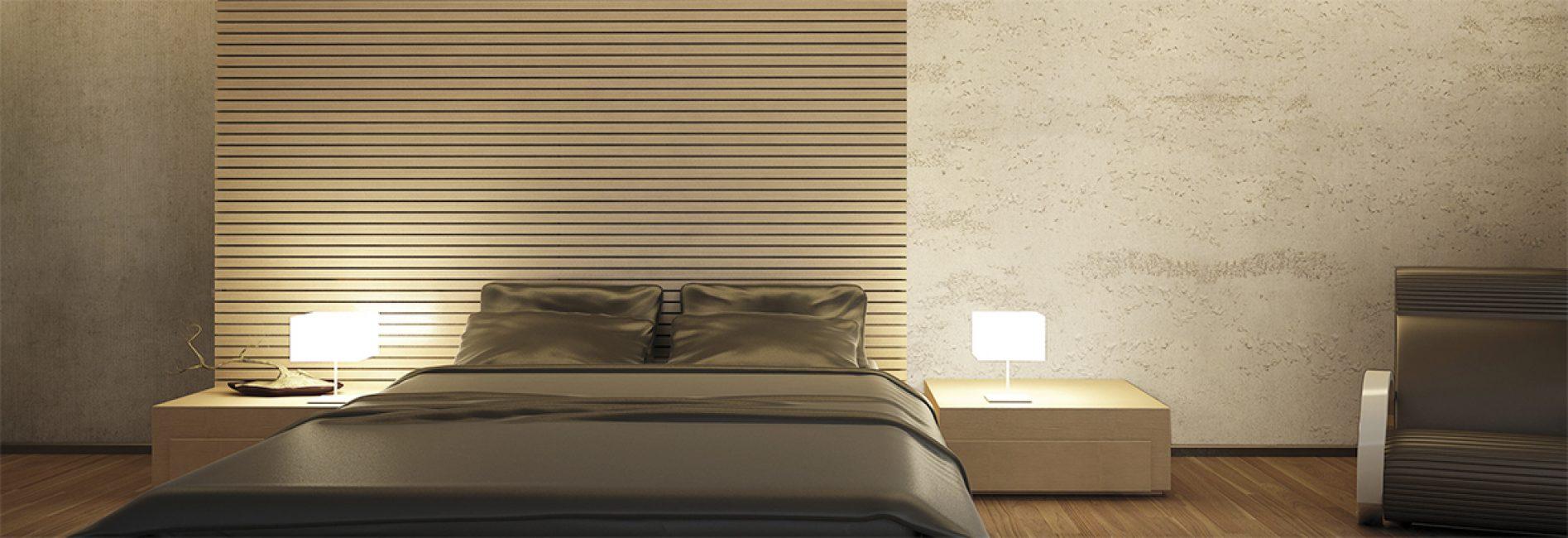 Легкие и ненавязчивые цвета подойдут для спальни