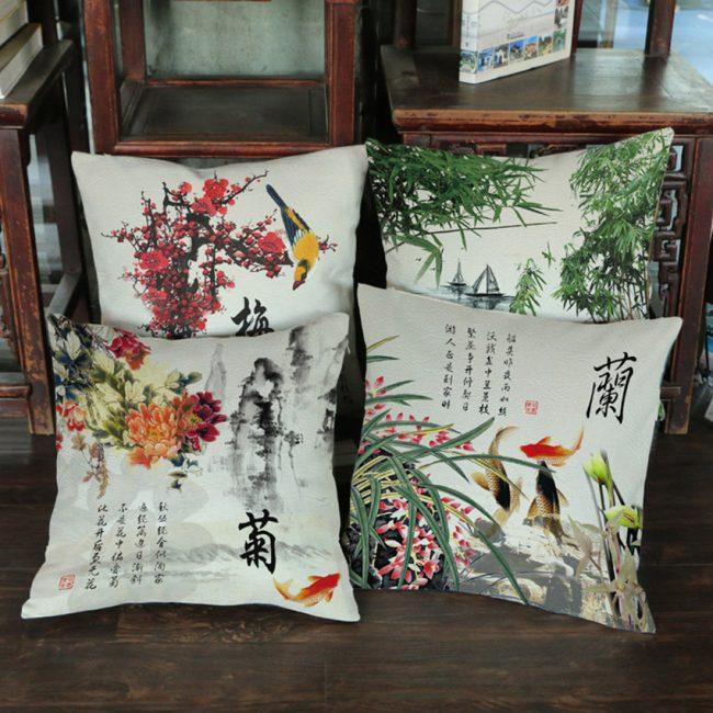 Вариант с китайской росписью