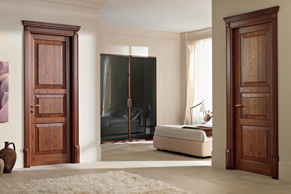 Подобные двери могут стать украшением интерьера