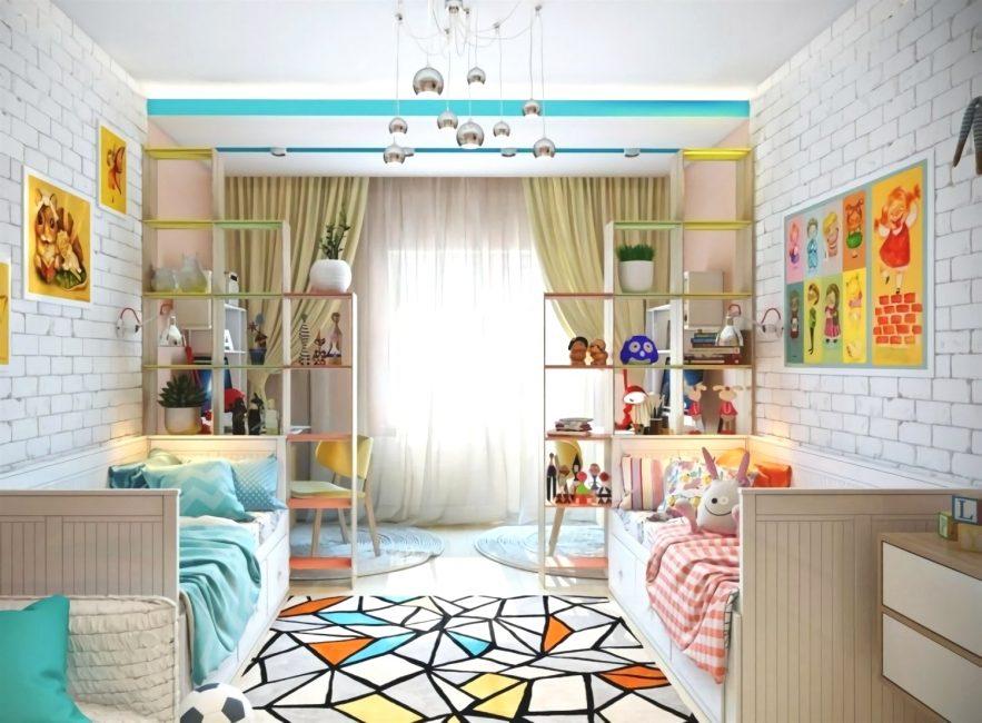 Продумайте текстуру, цвет, рисунок для комнаты