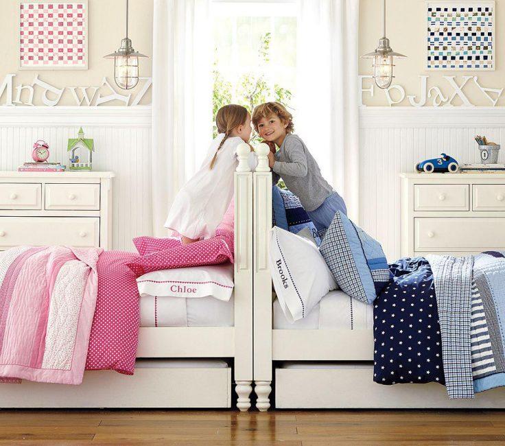 Большие удобные кровати, которые точно понравятся малышам