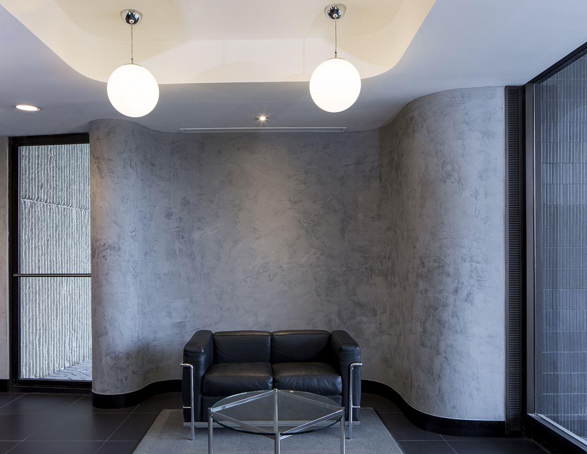 декоративная покраска обоев в офисе фото самом деле