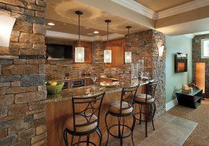 Декоративный камень на Кухне - 130 Вариантов Оформления красивых дизайнов