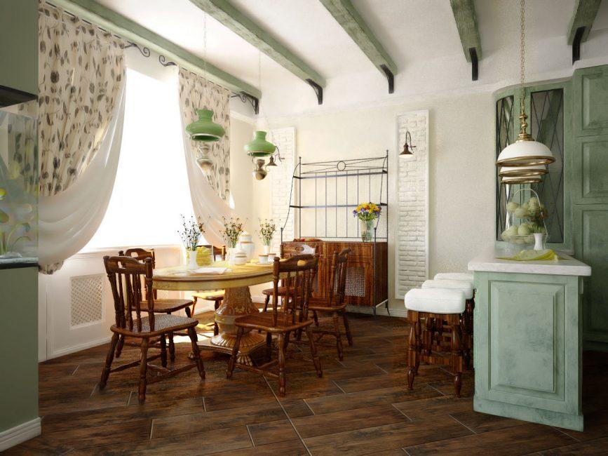 Сделайте полированные деревянные полы