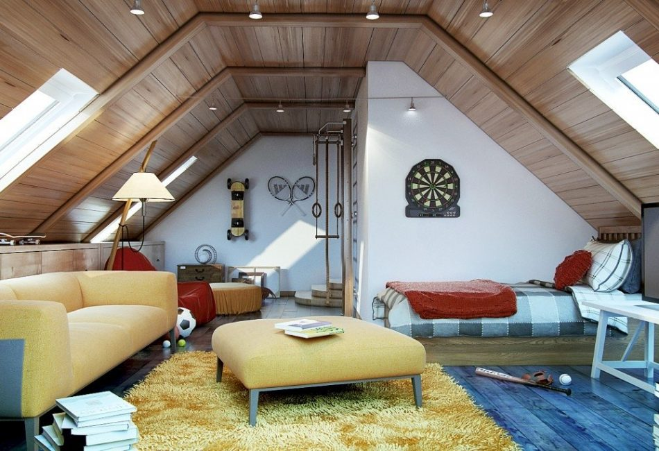 Прекрасная детская комната
