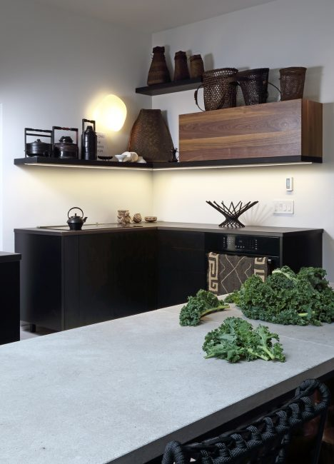 Стильный вариант для небольшого помещения