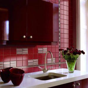 Дизайн Красной кухни в ярких тонах: Магия цвета, который влияет на наше восприятие интерьера (115+ Фото)