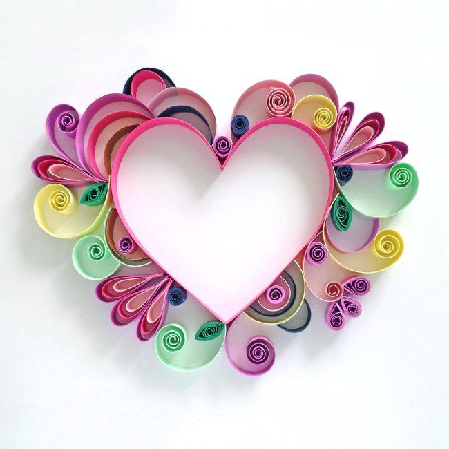 Красивое сердце