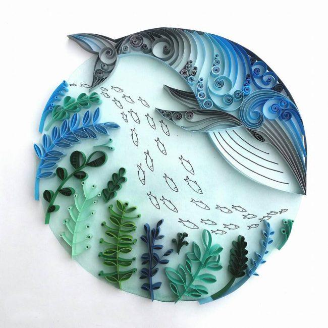 Подводная тематика - украсит домик возле моря