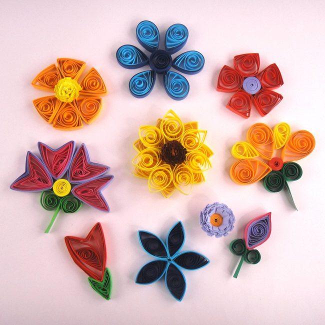 Kvilling-4-650x650 Цветы в технике квиллинг. Цветы из квиллинга