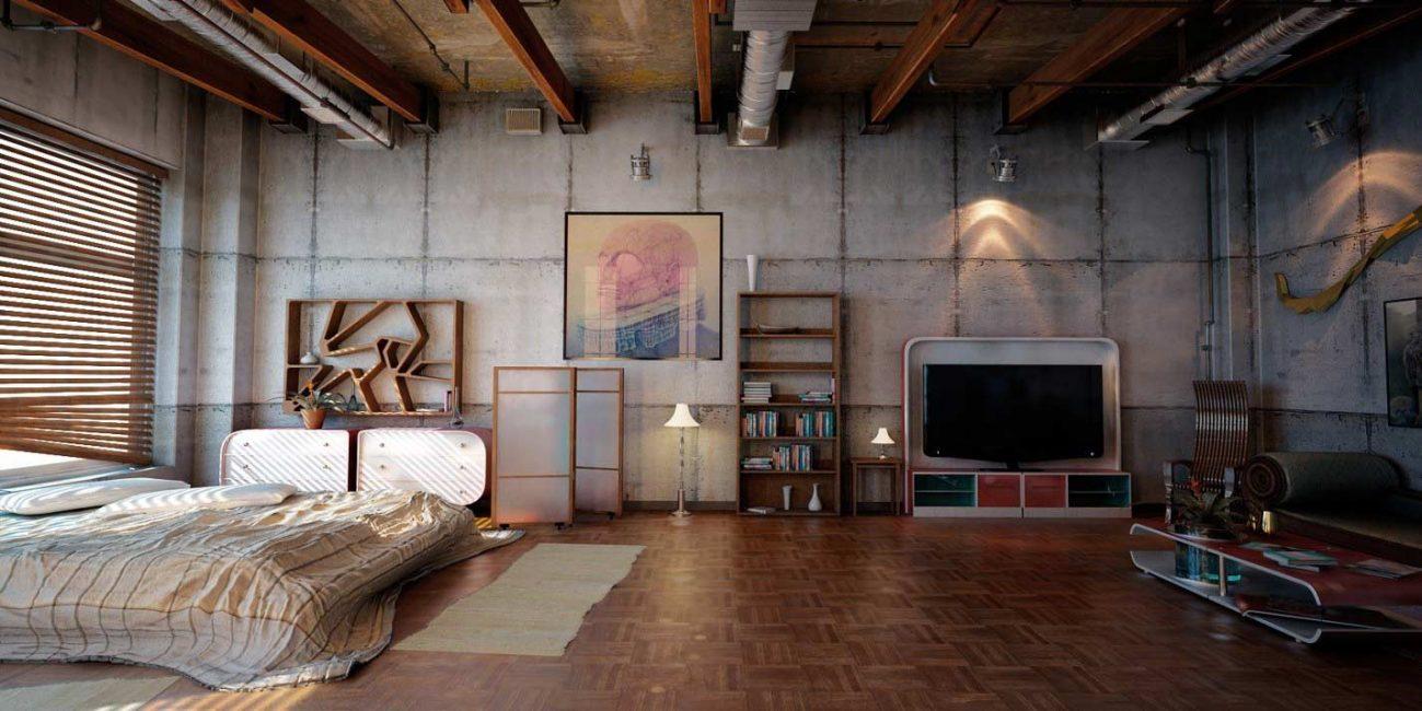 Первые loft apartment появились в 50 годах в США