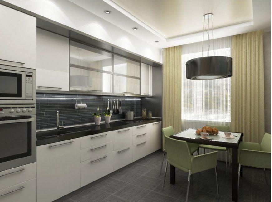 Дизайн кухни должен приносить психологический комфорт