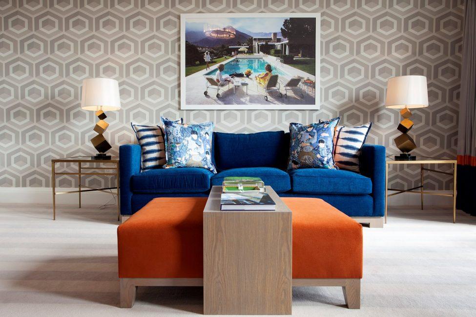 В дизайне гостиной