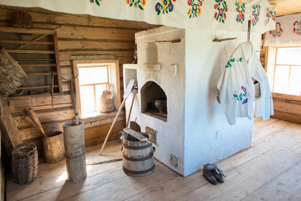 Подходит для домов в деревенском стиле