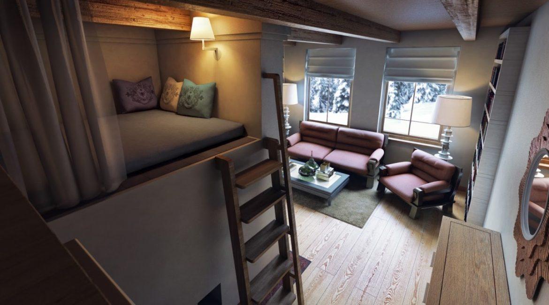 Теплое и уютное спальное местечко