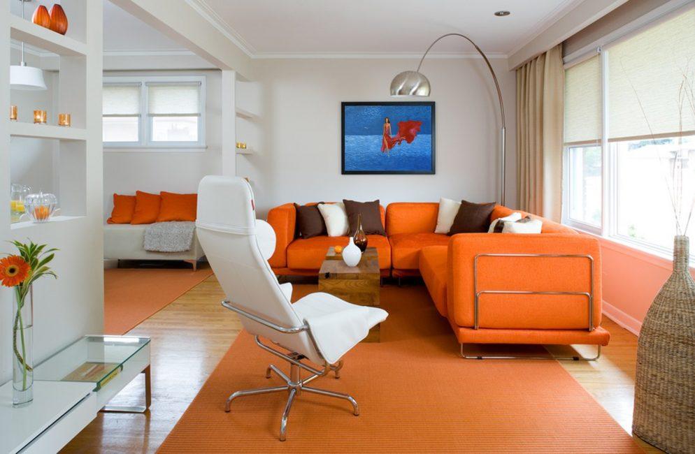 Оранжевый – цвет энергии