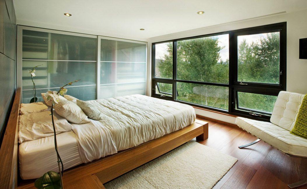 Используйте чистые линии при выборе мебели