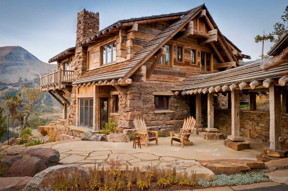 Уютный вариант в деревенском стиле