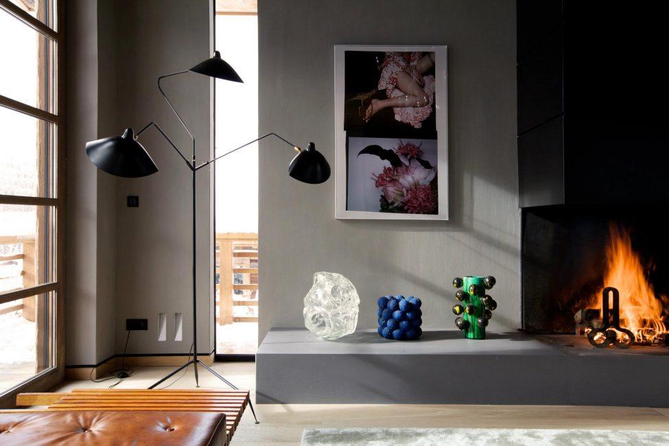 Камин добавит уюта комнате