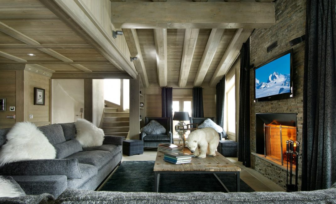 Одновременно элегантный и уютный дизайн