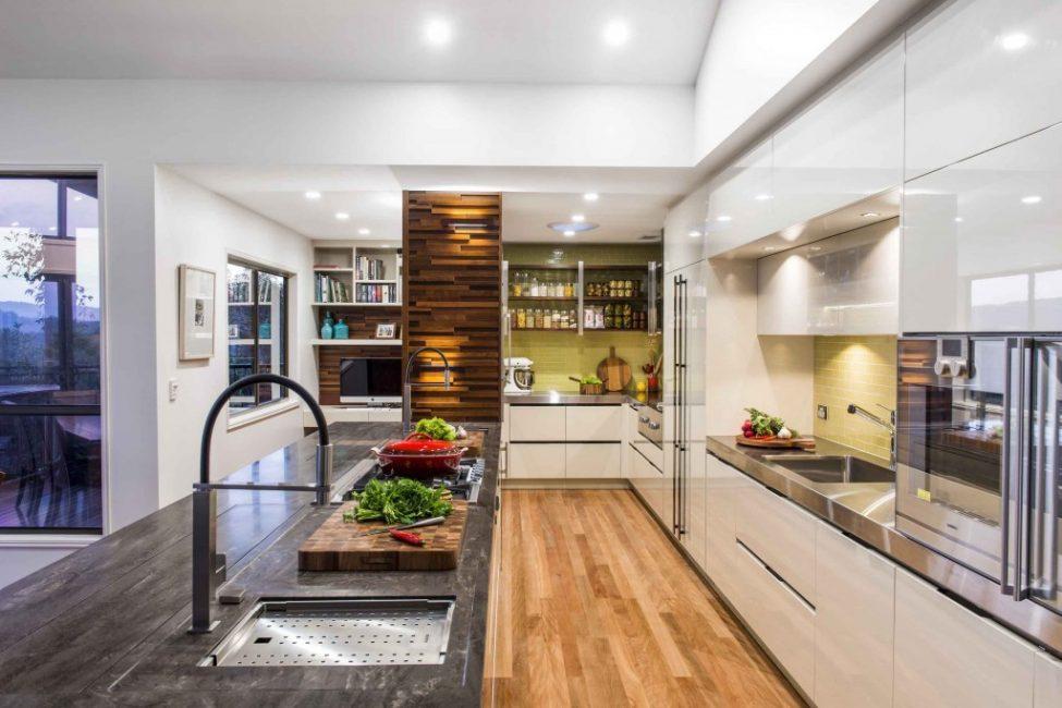 Стильная, красивая кухня