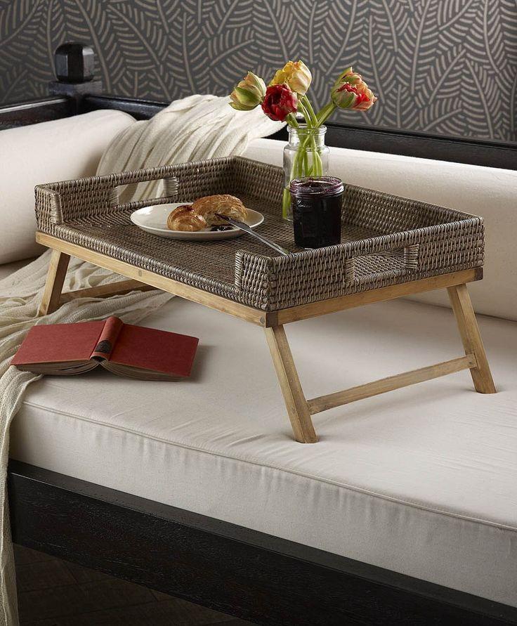 Столик для завтрака в постель своими руками 99