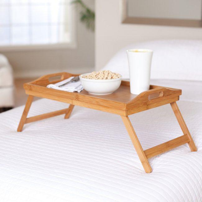 Столики для завтрака в постель