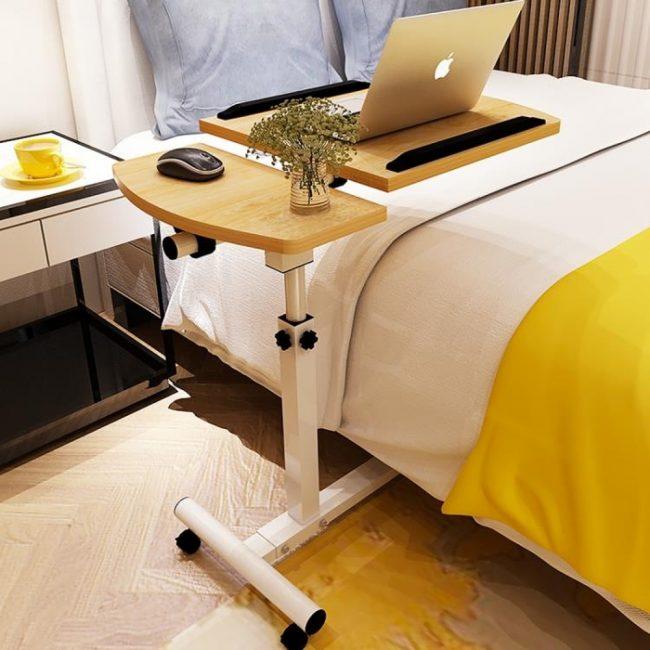 Позволит вам занять комфортную позу в постели