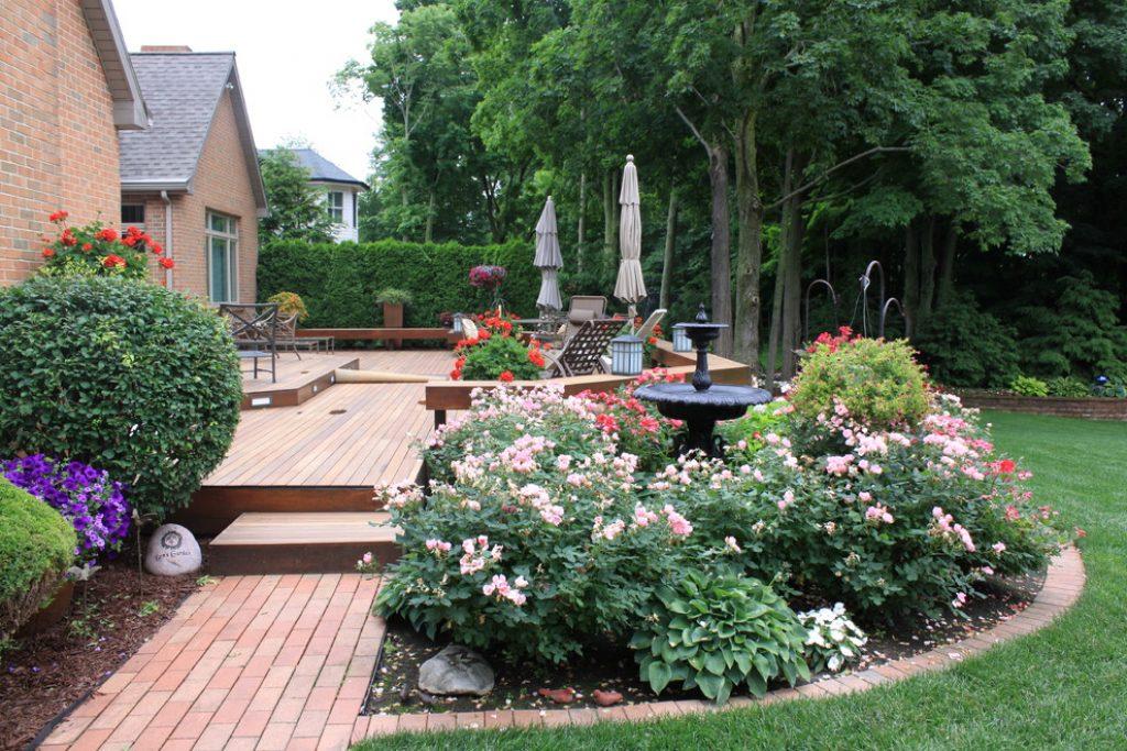 Дорожки на даче из тротуарной плитки - Дизайн красивого двора (120+ Фото)