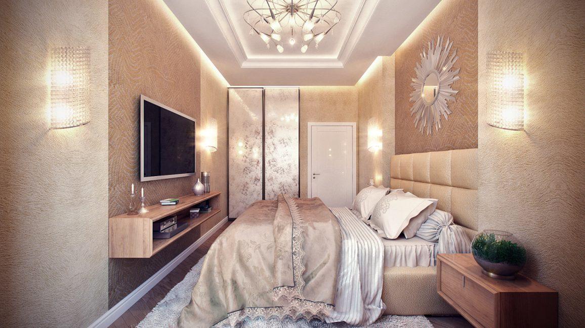 Создайте в своей спальне особенную стену