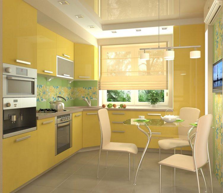 Желтый – бодрящий цвет