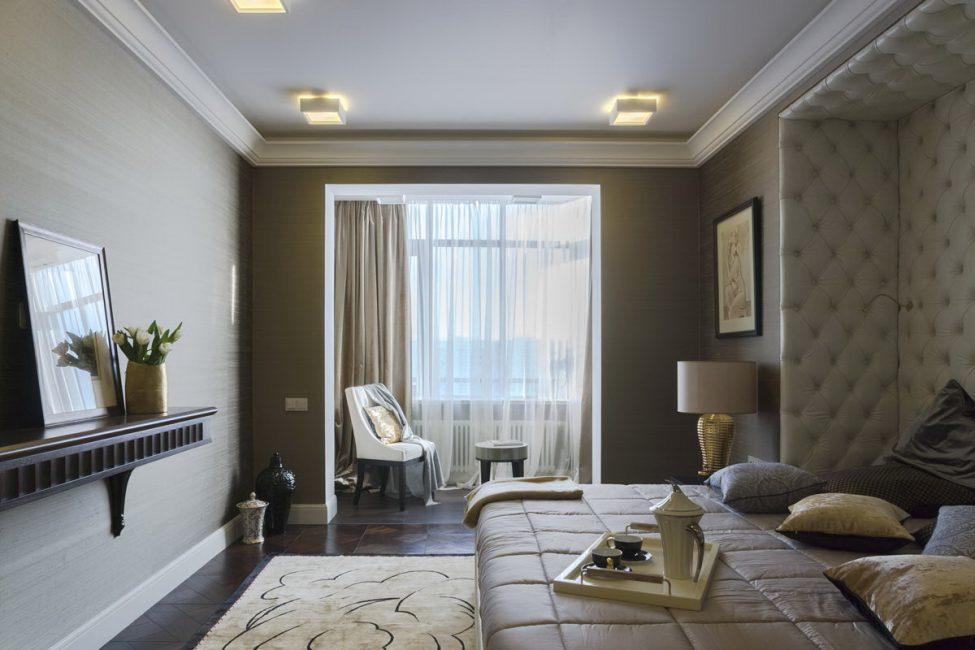 Эффектность помещения подчеркивается цветом