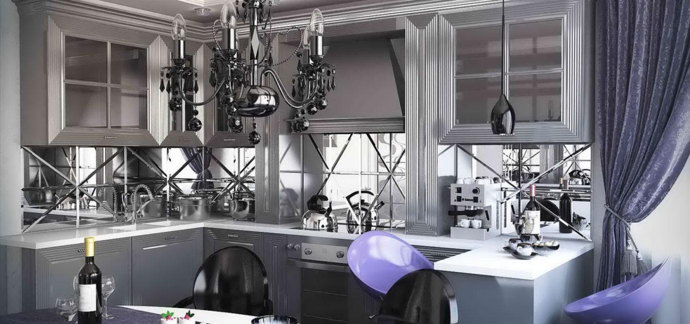 Стиль в интерьере кухни