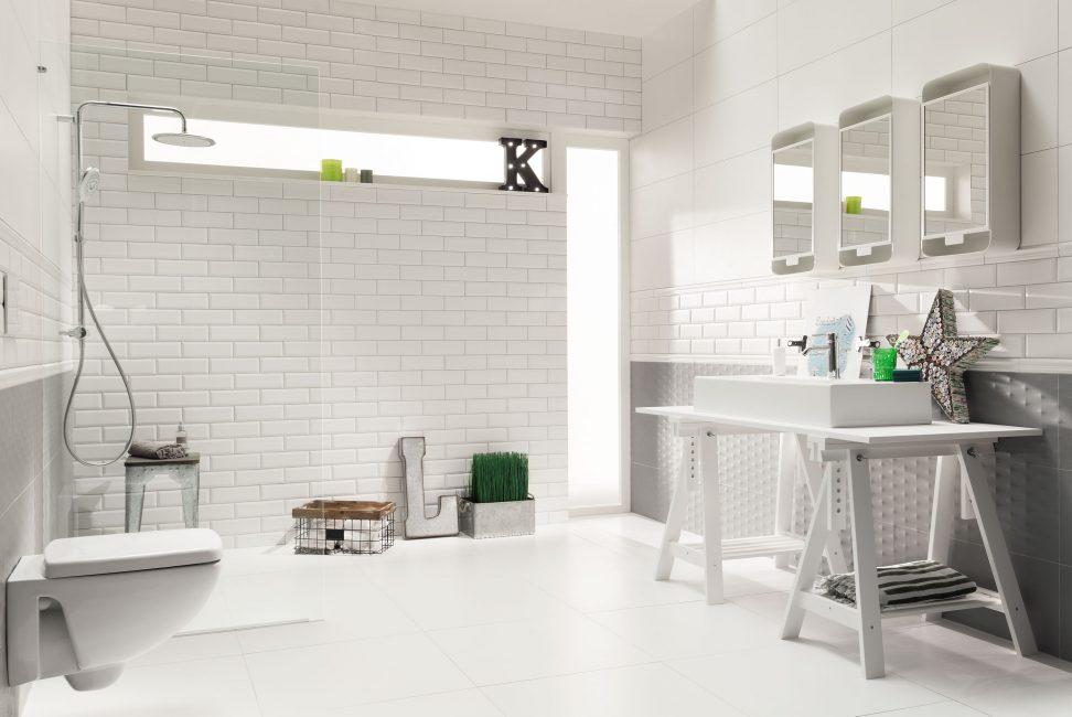 Интересный дизайн ванной