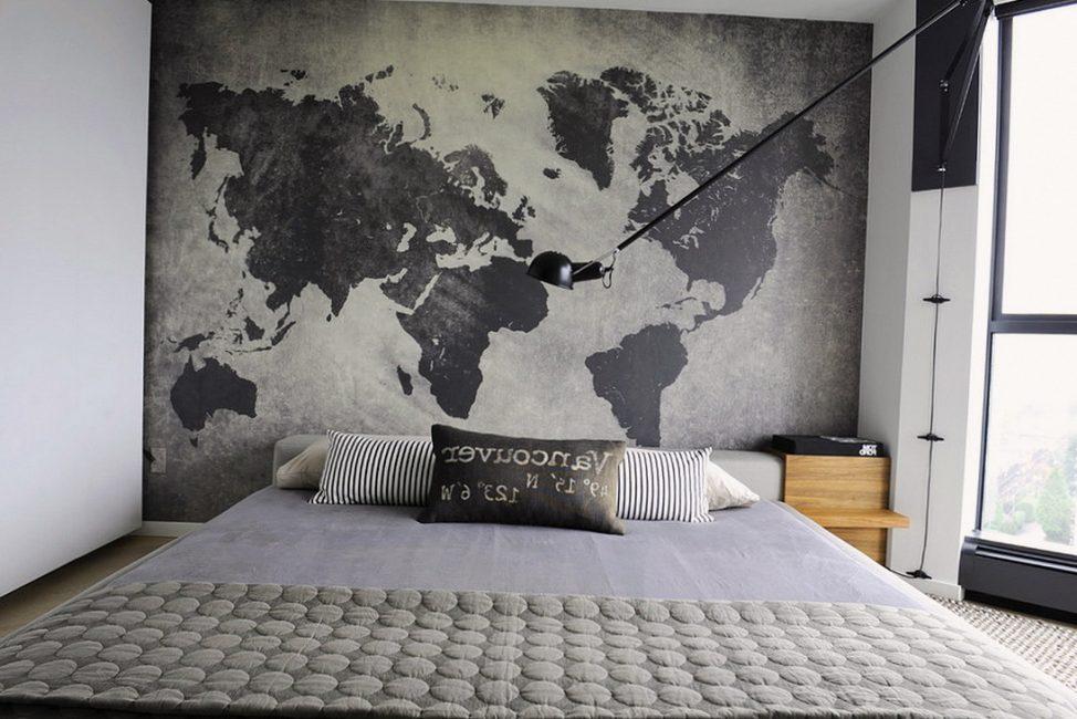 Карта мира - для любителей путешествовать