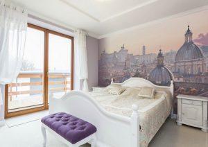 Фотообои в интерьере спальни: 205+ (Фото) Красивых идей для создания уюта