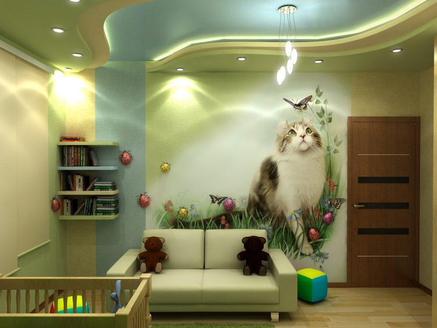 Вариант для детской комнаты