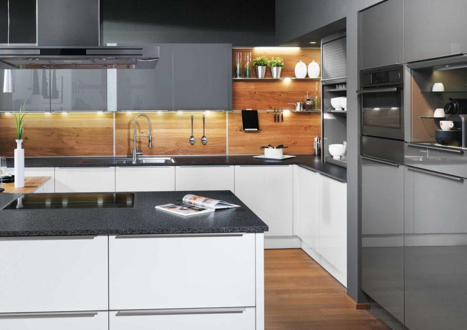 МДФ – это лучший вариант для оформления стен на кухне.