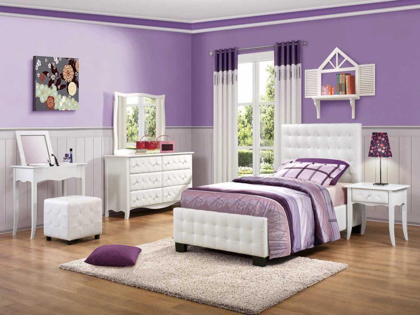 Для ребенка спальня должна быть уютной, безопасной