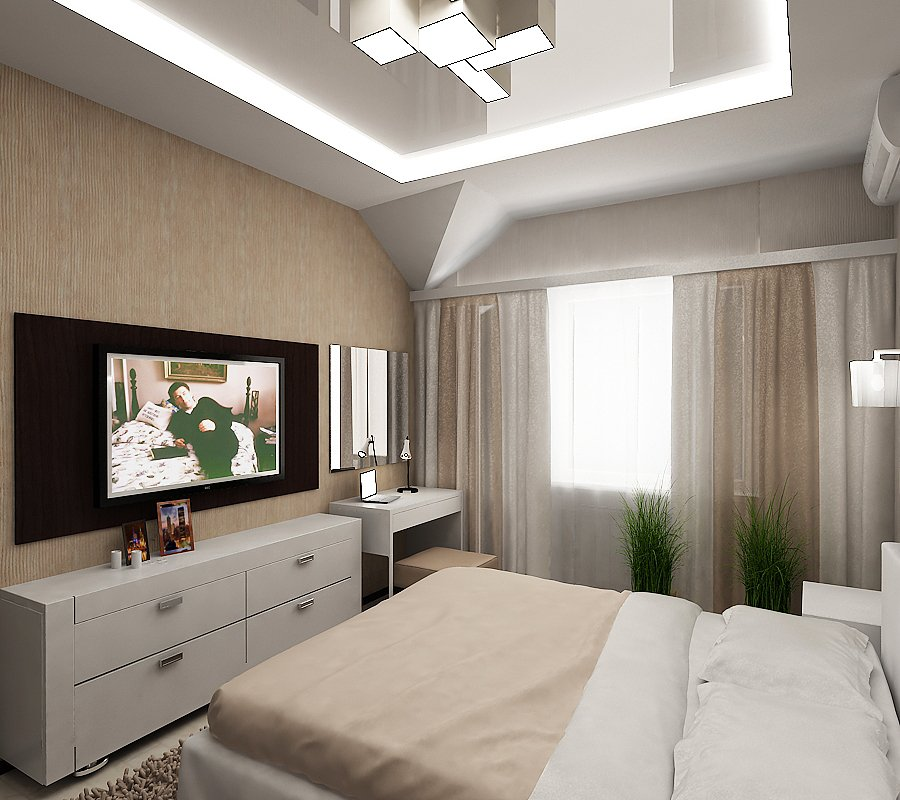 многим спальня в прямоугольной комнате дизайн фото тебе звезд неба