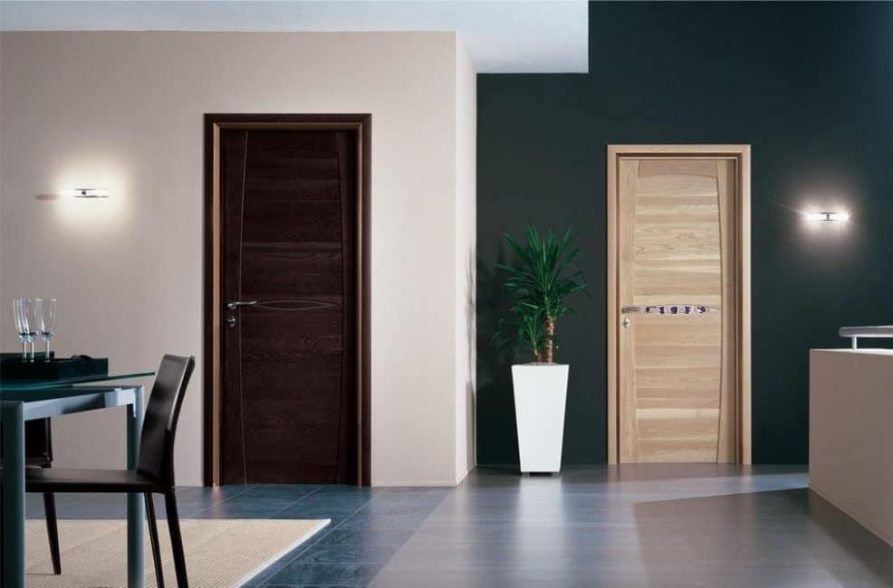 Разные стили и цвета в одном помещении