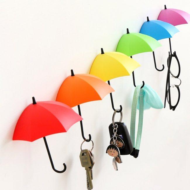 Яркие зонтики будут поднимать вам настроение