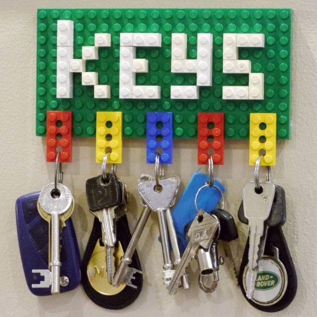 Лего - креативный и интересный способ разнообразить интерьер