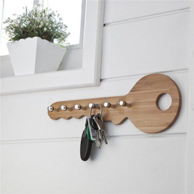 В виде ключа