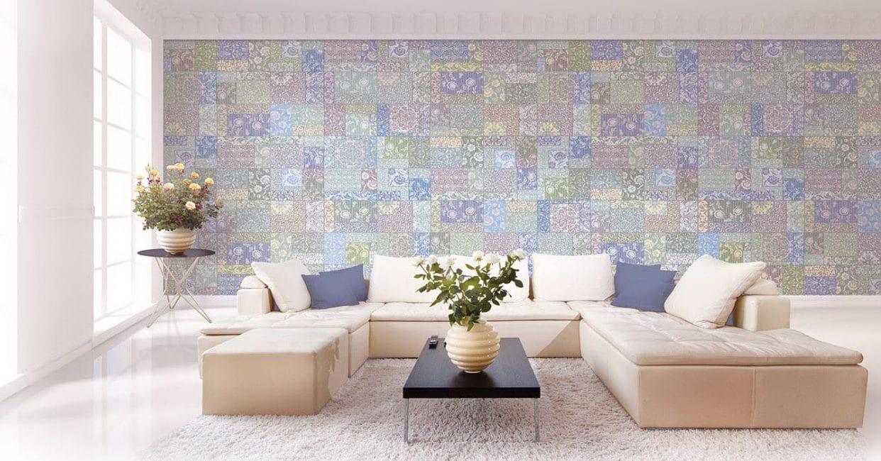 Стиль можно применить практически к любой комнате